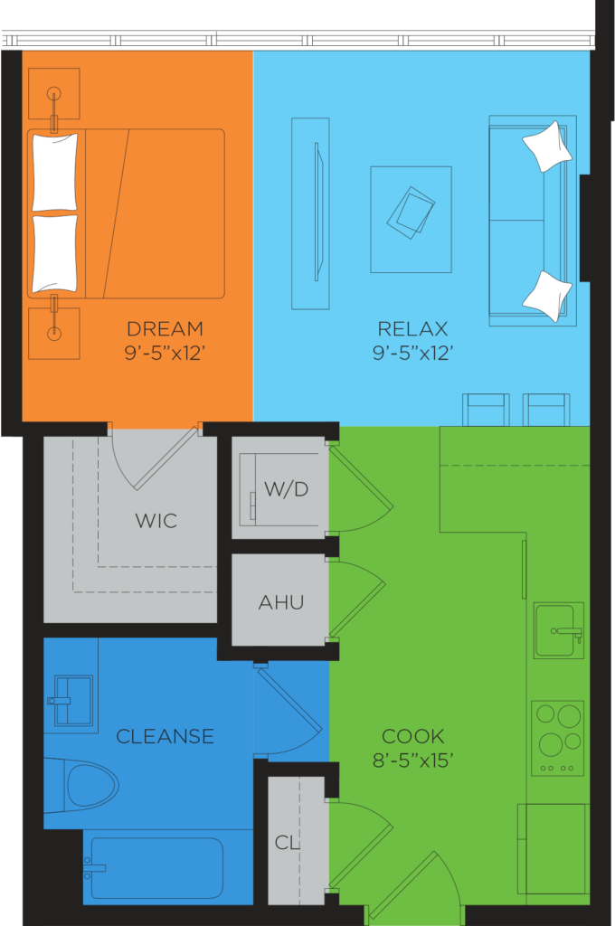 A1 Studio Floor Plan