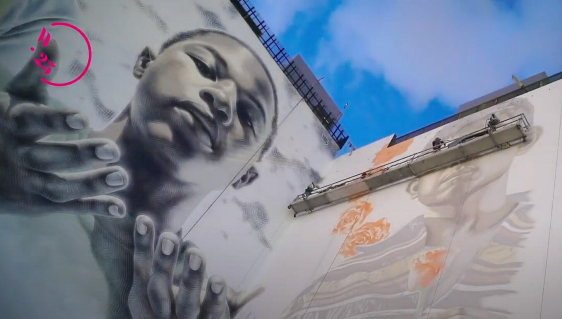 Building graffiti art