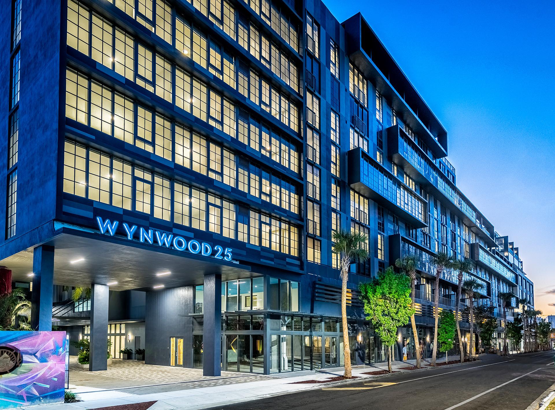 Wynwood 25 building entrance