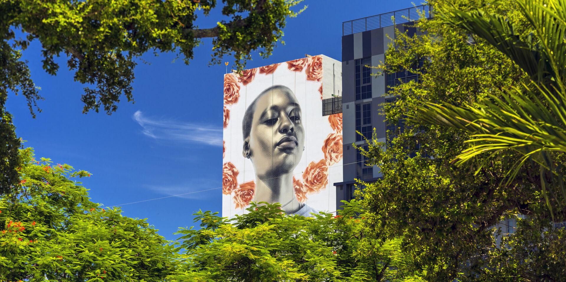 Wynwood 25 building wall art