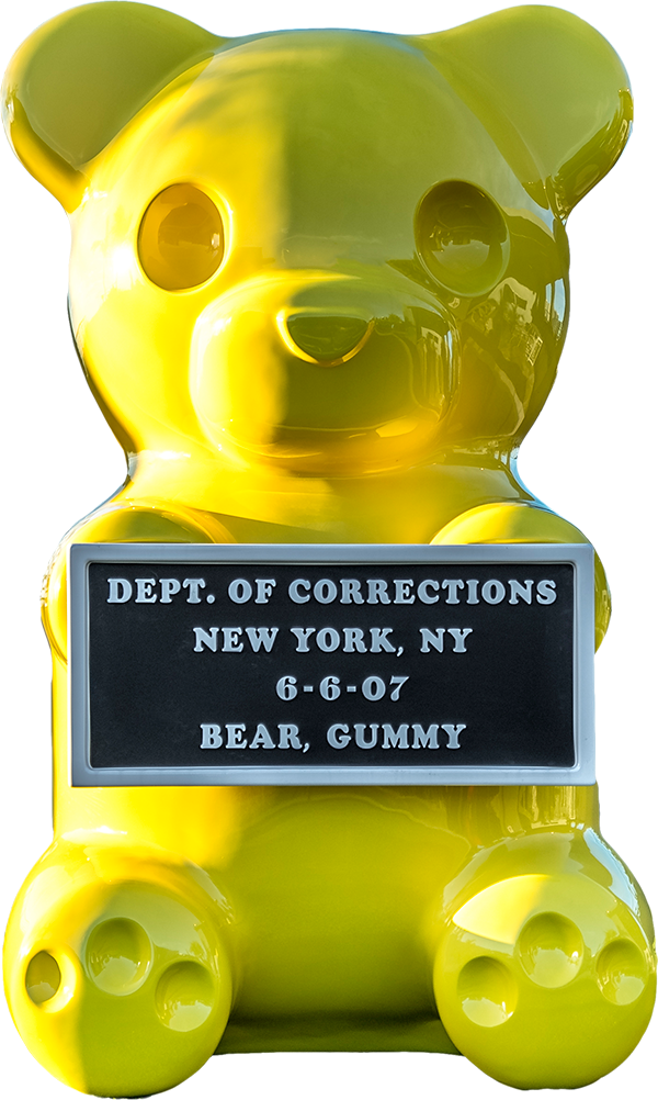 Vandal Gummy Bear Sculpture